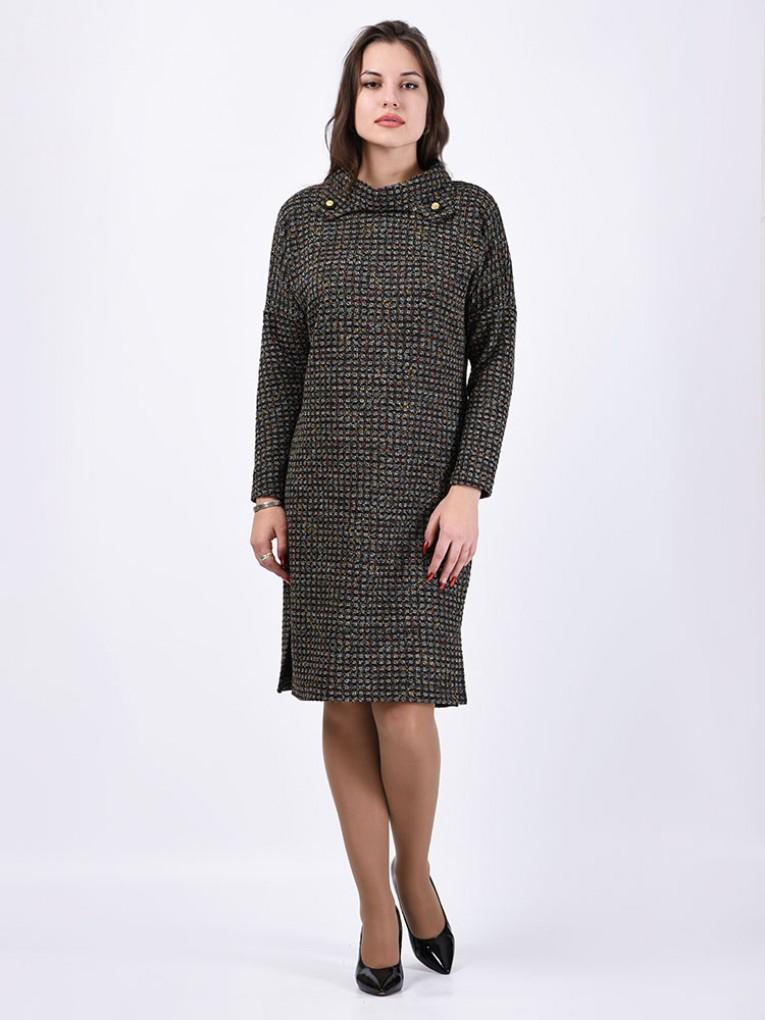 Платье мод. 1574-1 цвет Серый
