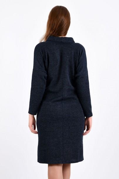 Платье мод. 1574-1 цвет Синий