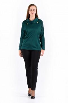 Блуза мод. 1574 цвет Изумрудный