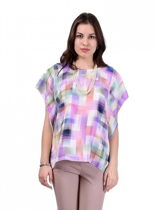 Блуза мод. 1589-1 цвет Сиреневый