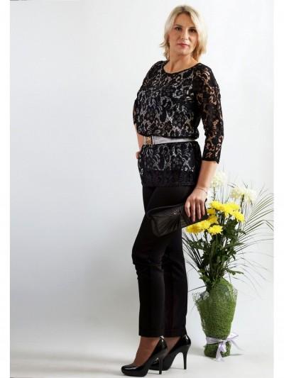 Блуза мод. 1590 цвет Чёрный