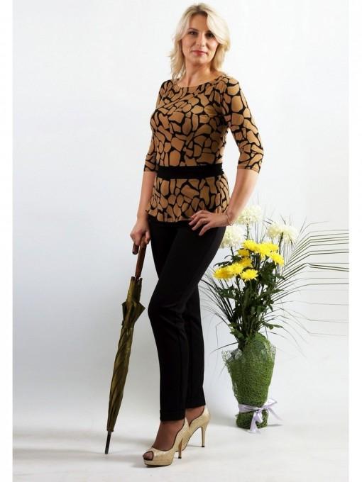 Блуза мод. 1599 цвет Жираф