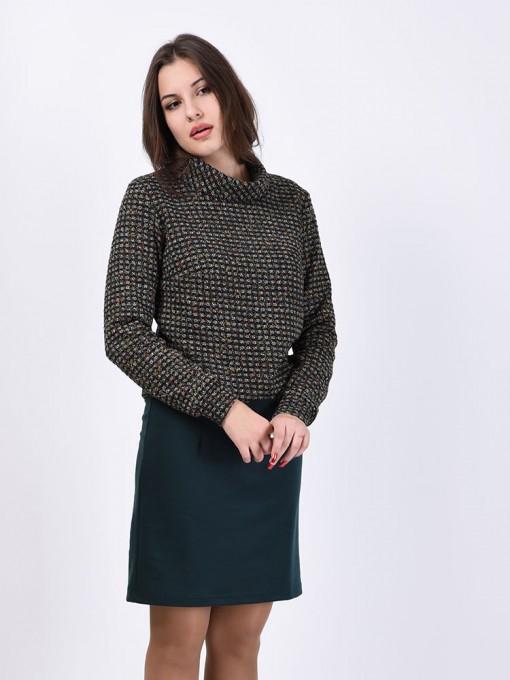 Платье мод. 1617-1 цвет Изумрудный