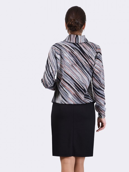 Платье мод. 1617-1 цвет Серый