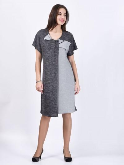 интернет магазин женской одежды,Платье мод. 1620 Серый цвет,женская одежда оптом и в розницу