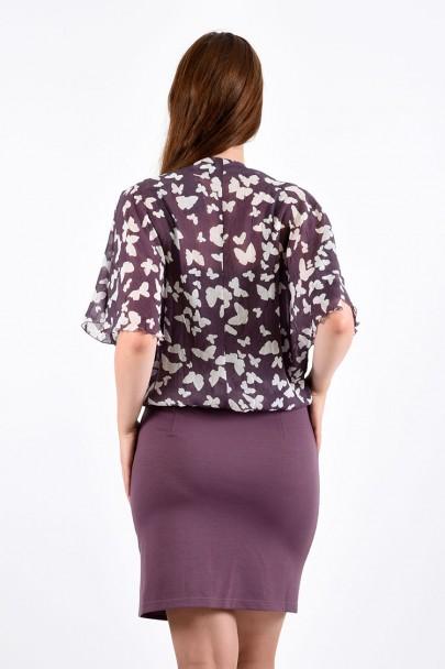 Платье мод. 1624-1 цвет Розовый