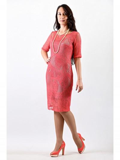 Платье мод. 1626-1 цвет Персик