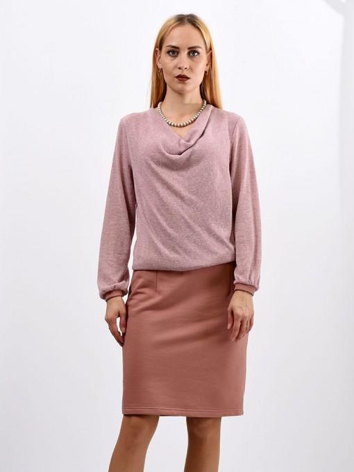 Платье мод. 1633-1 цвет Розовый