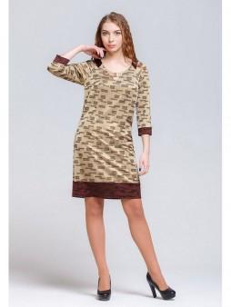 Платье мод. 1640 цвет Золото