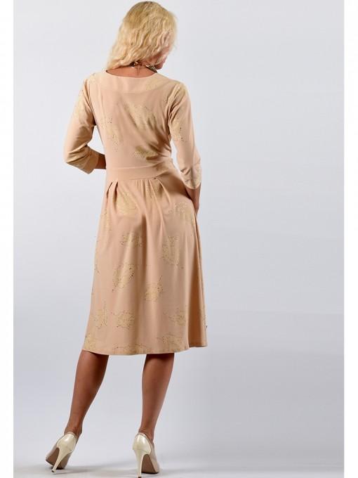 Платье мод. 1649 цвет Бежевый