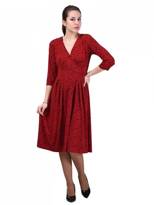 Платье мод. 1649 цвет Красный