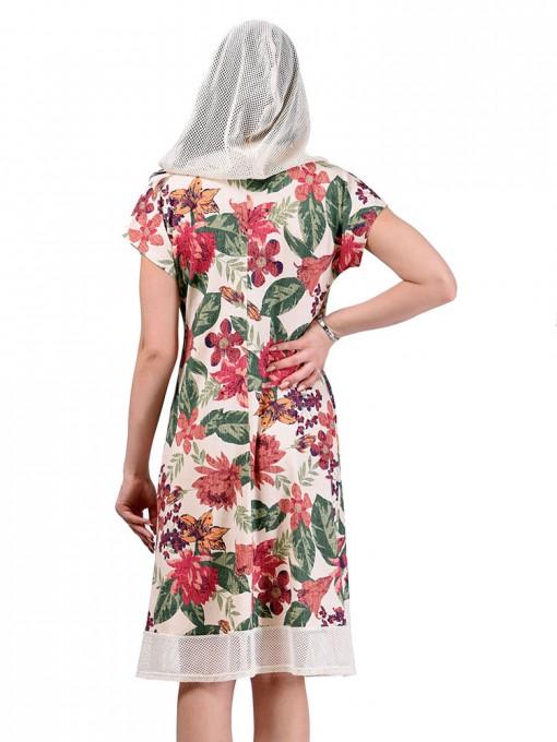 Платье мод. 1651 цвет Молоко