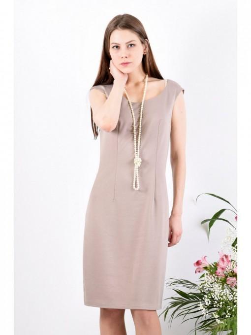 Платье мод. 1658-1 цвет Бежевый