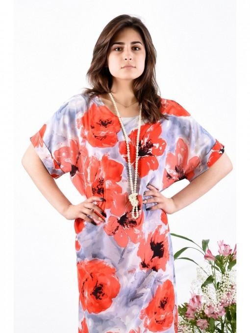 Платье мод. 1688-1 цвет Красный