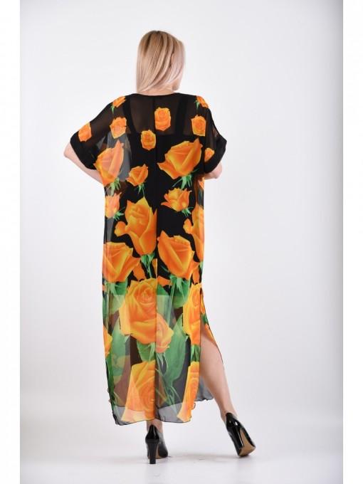 Платье мод. 1688-1 цвет Желтый