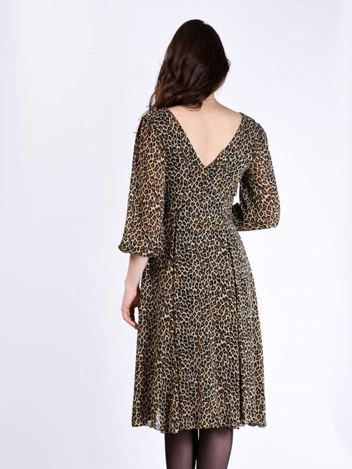 Платье мод. 1715-2 цвет Леопардовый