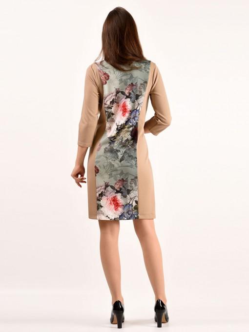 Платье мод. 1731-1 цвет Фисташковый
