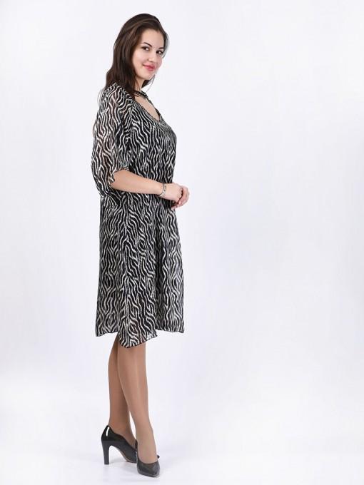 Платье мод. 1748 цвет Черный