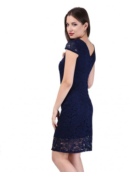 Платье мод. 1761 цвет Синий