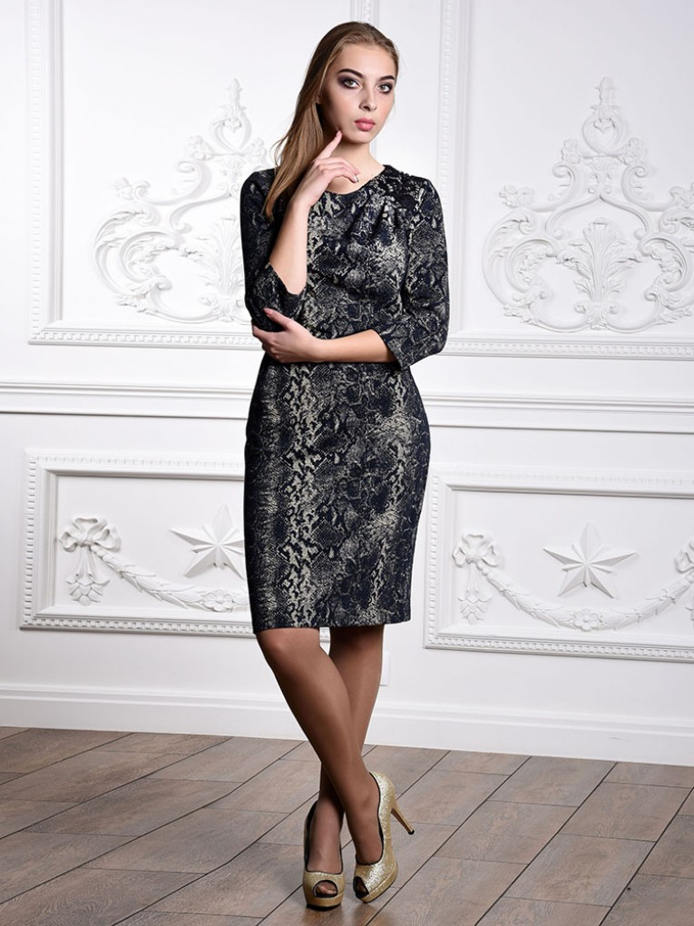 Платье мод. 1764 цвет Золото