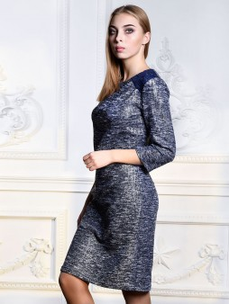 Платье мод. 1764 цвет Серебро