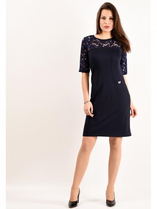 Платье мод. 1765 цвет Темно-синий