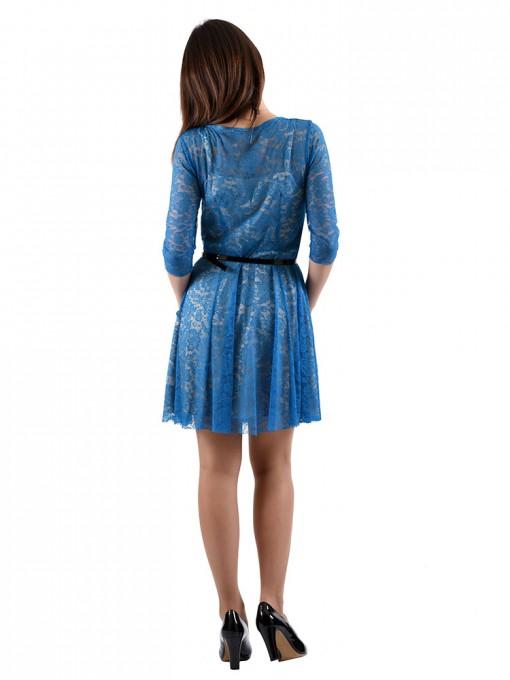 Платье мод. 1767 цвет Бирюзовый