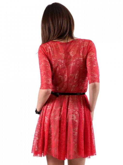 Платье мод. 1767 цвет Вишневый