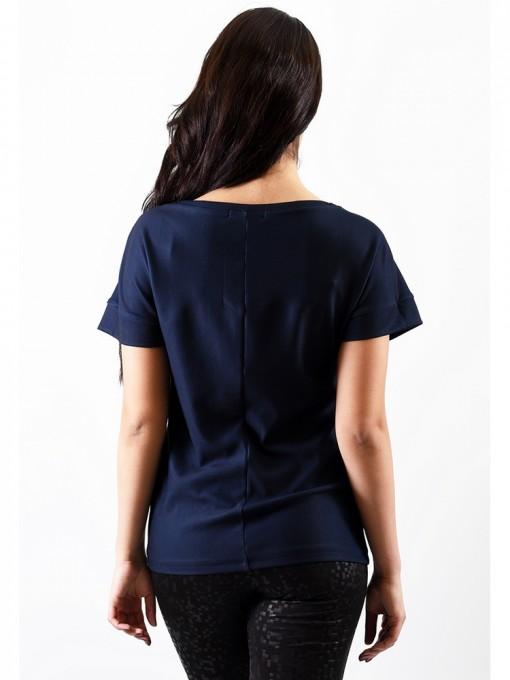Блуза мод. 1772-3 цвет Синий