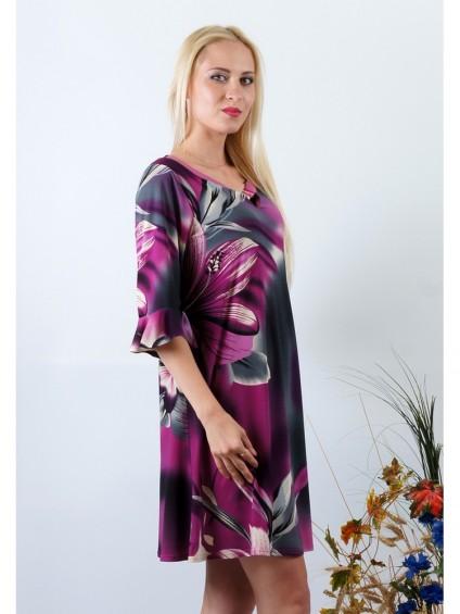 Платье мод. 1777 цвет Фиолетовый