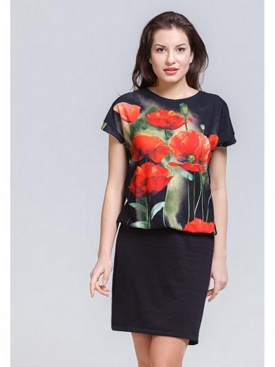 Платье мод. 1787 цвет Чёрный