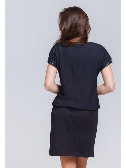 Платье мод. 1787 цвет Черный