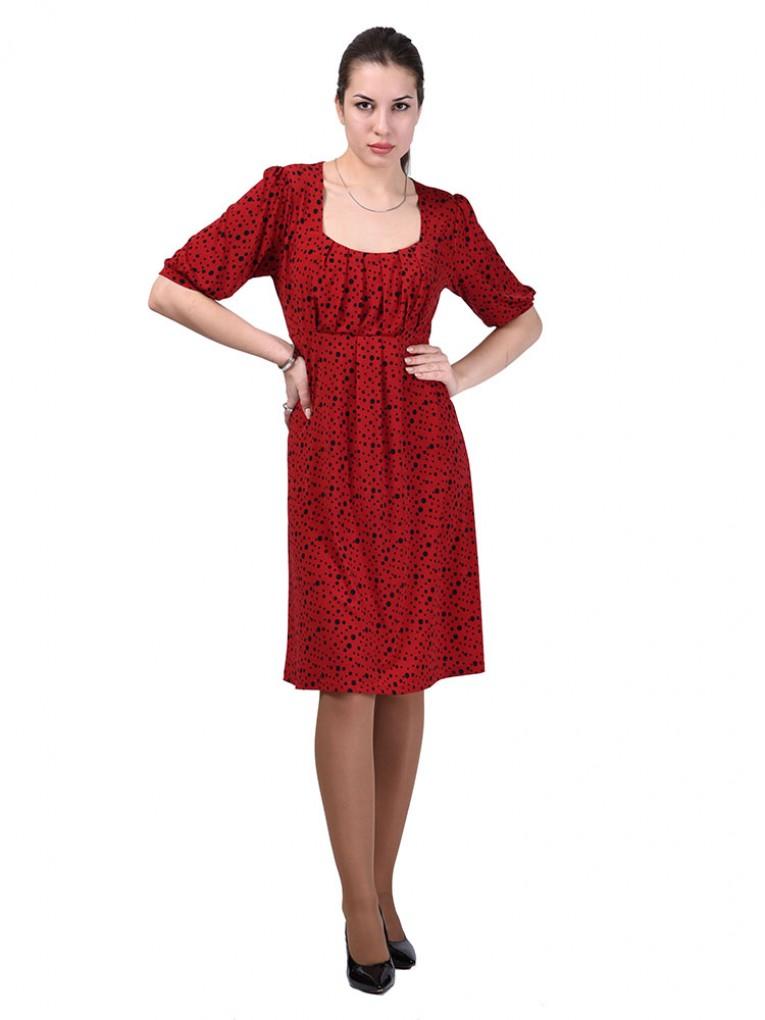 Платье мод. 1791 цвет Красный