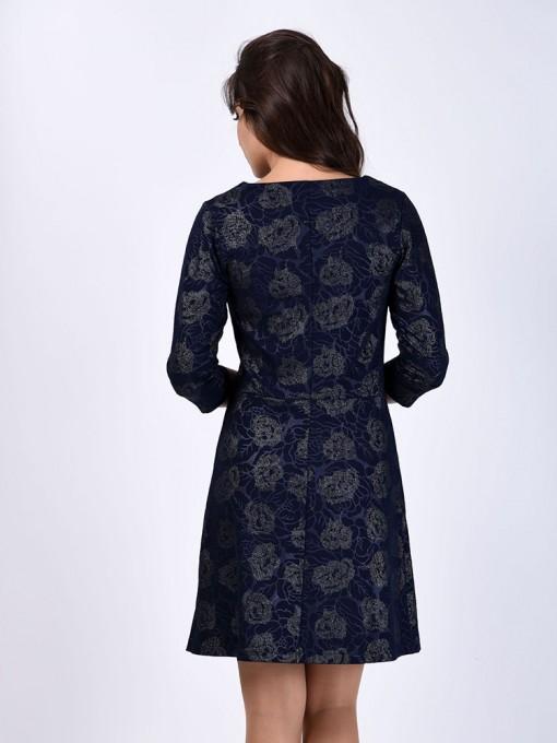 Платье мод. 1796 цвет Синий