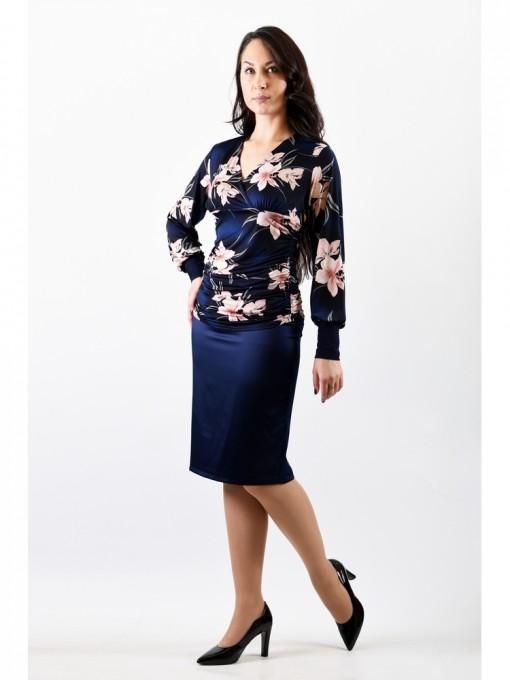 Блуза мод. 1811 цвет Цветы