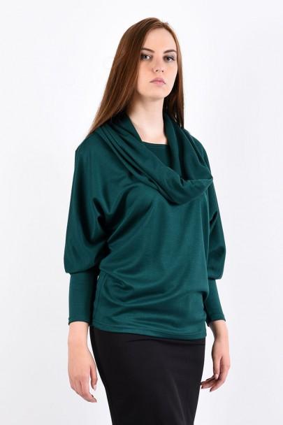 Блуза мод. 1817 цвет Изумрудный