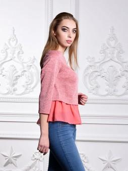Блуза мод. 1819 цвет Розовый
