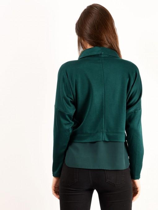 Блуза мод. 1821 цвет Изумрудный
