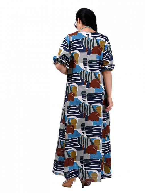 Платье мод. 2701-3 цвет Бирюза