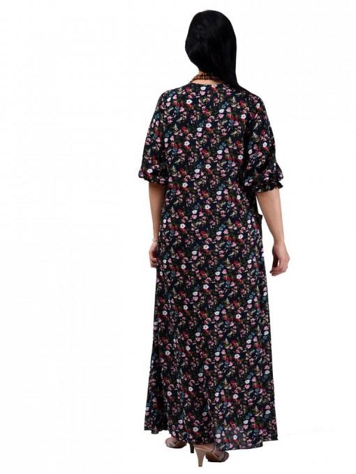 Платье мод. 2701-3 цвет Темно-синий