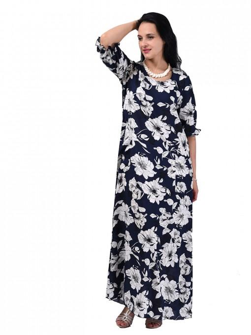 Платье мод. 2701-3 цвет Синий