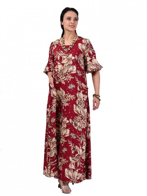 Платье мод. 2701-3 цвет Красный
