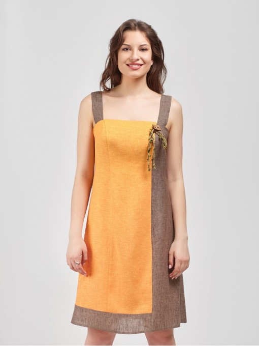 Сарафан мод. 2704 цвет Оранжевый