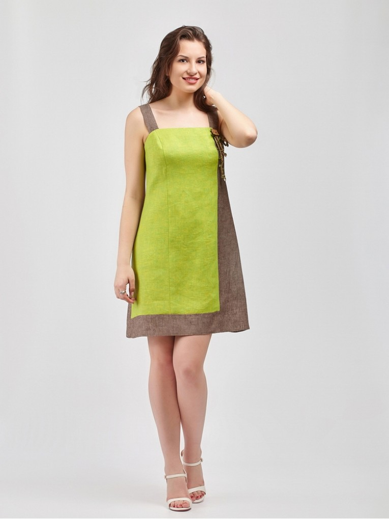 Сарафан мод. 2704 цвет Салатовый