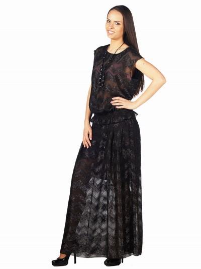 интернет магазин женской одежды,Юбка мод. 3307 Чёрный цвет,женская одежда оптом и в розницу