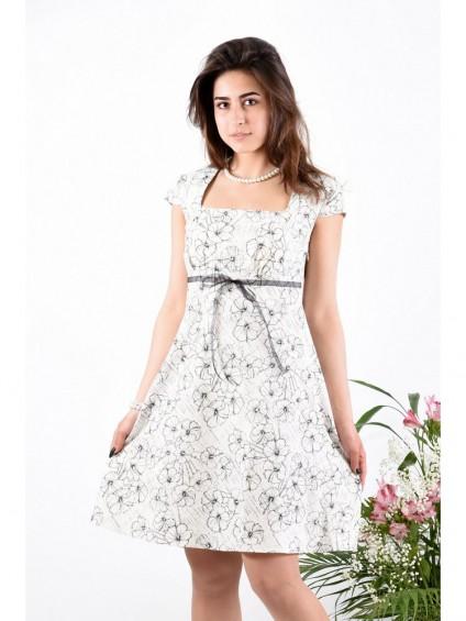 Платье мод. 3407-1 цвет Молоко