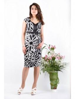 Платье мод. 3413-1 цвет Чёрный