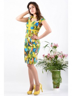Платье мод. 3413-1 цвет Желтый
