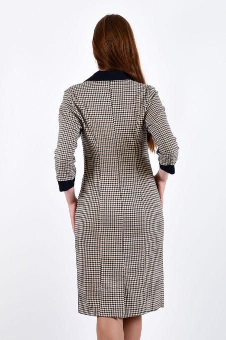 Платье мод. 3414 цвет Синий