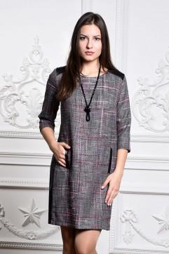 Платье мод. 3416 цвет Сирень